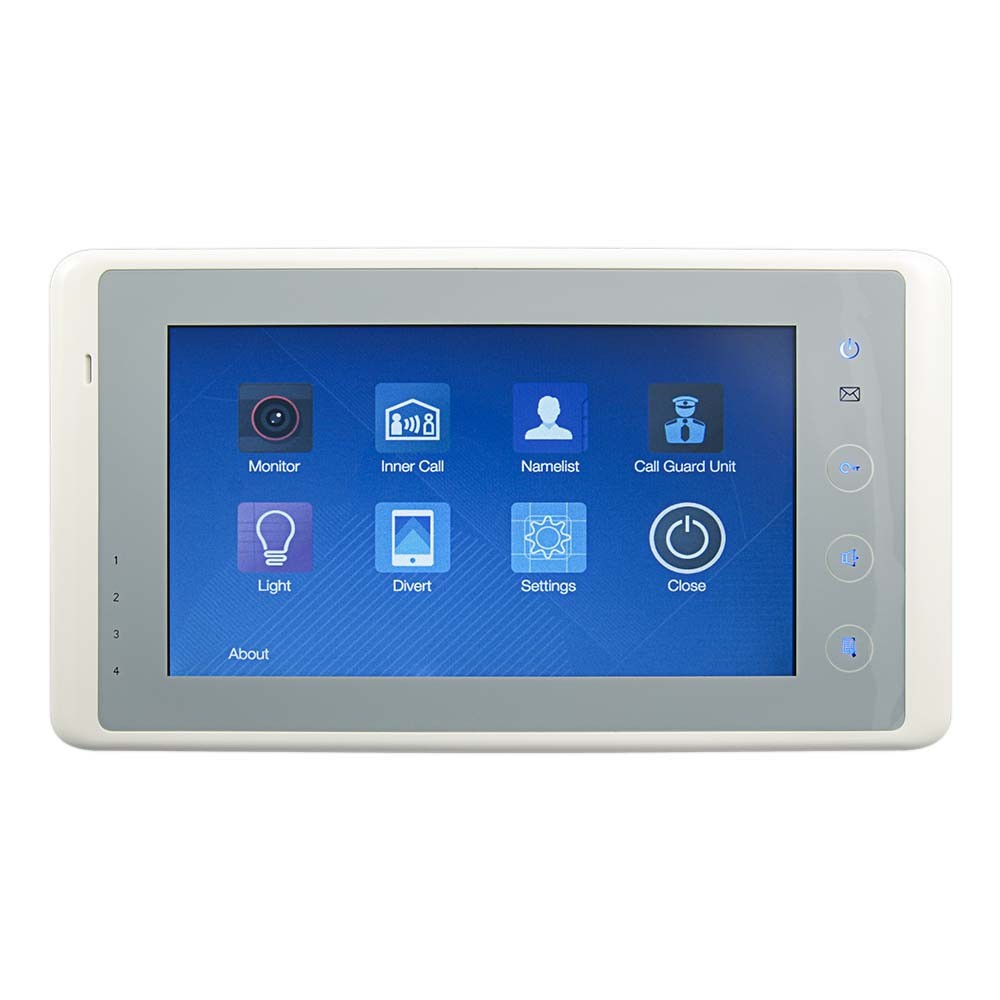 Rss Mt7 Colour Touch Screen Monitor Door Entry Apartment Unit Raytel Security Systems