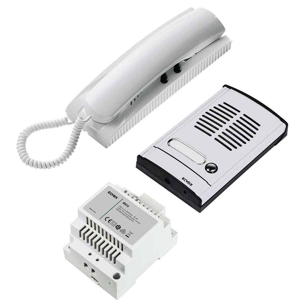 Elvox 885g Audio Door Entry Kit 1 Door Raytel Security Systems