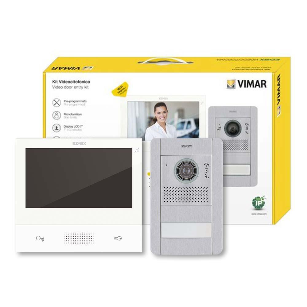 Elvox K4060701 Ip Video Door Entry Kit 1 Door Colour Raytel