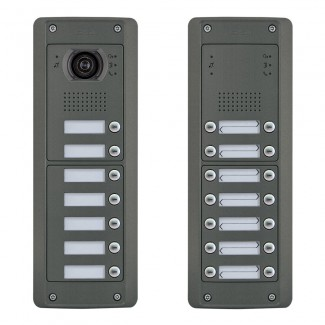 Elvox Pixel Heavy Series - Audio / Video Door Entrance Panels - 2 Wire