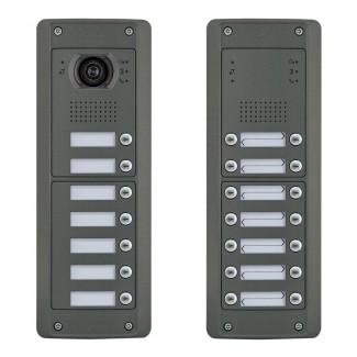 Door Entry - Pixel Heavy Series - Audio / Video Door Entrance Panels - 2 Wire
