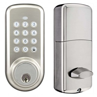 BT-Deadbolt-K - Battery Powered Bluetooth Smart Deadbolt Lock with Keypad