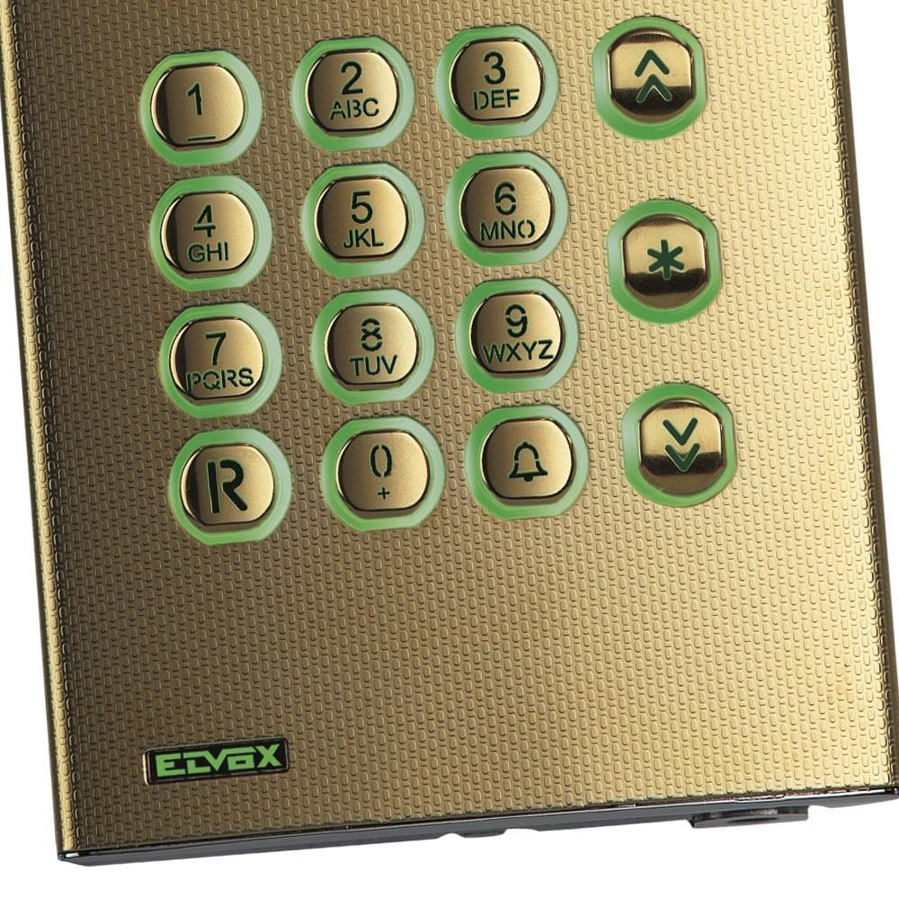 Elvox 1200 Series Keypad Close Up
