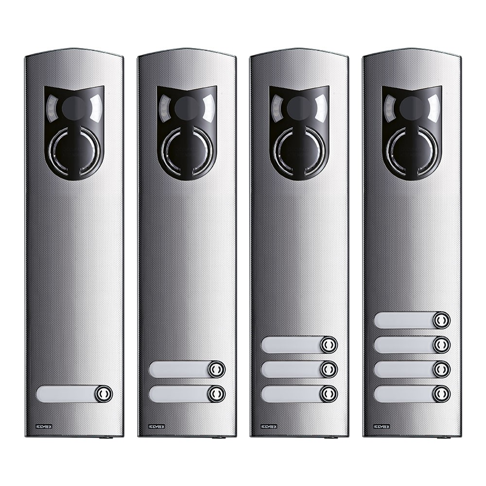 Elvox 1200 Series tall panels 1 to 4 buttons