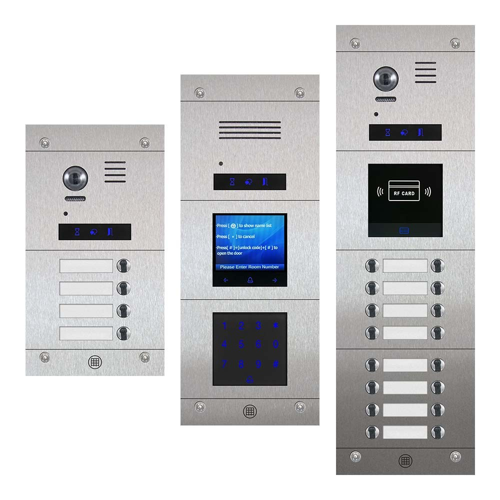 RS2 Touch Series Stainless Steel Modular Entrance Panels