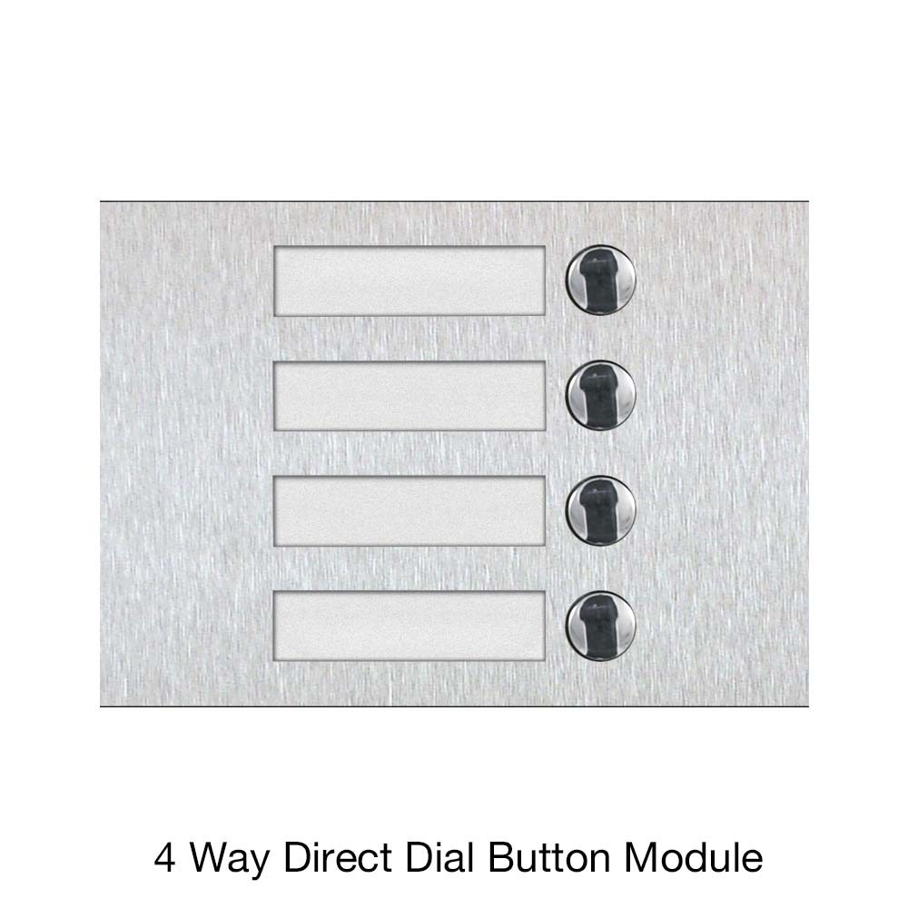 4 Way Direct Dial Button Module
