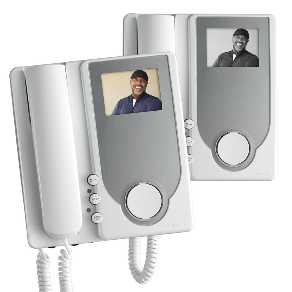 Elvox Door Entry Audio Video Colour and Black & White Handsets