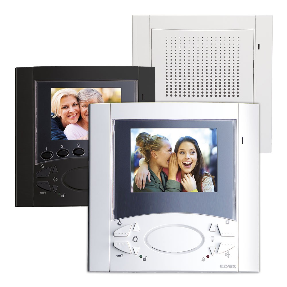 Elvox 6600 Series Audio and Video Open Voice Door Entry Monitors