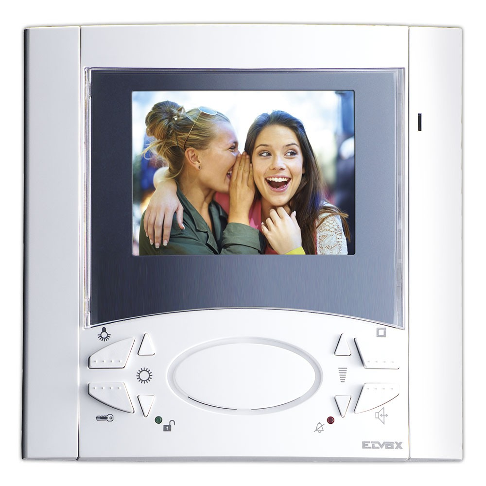 Elvox Video Door Entry Monitor type 6611 - white