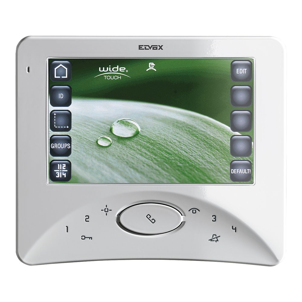 Elvox Door Entry - 7300 Series Touch Wide Screen Open Voice Video Monitor - Elvox