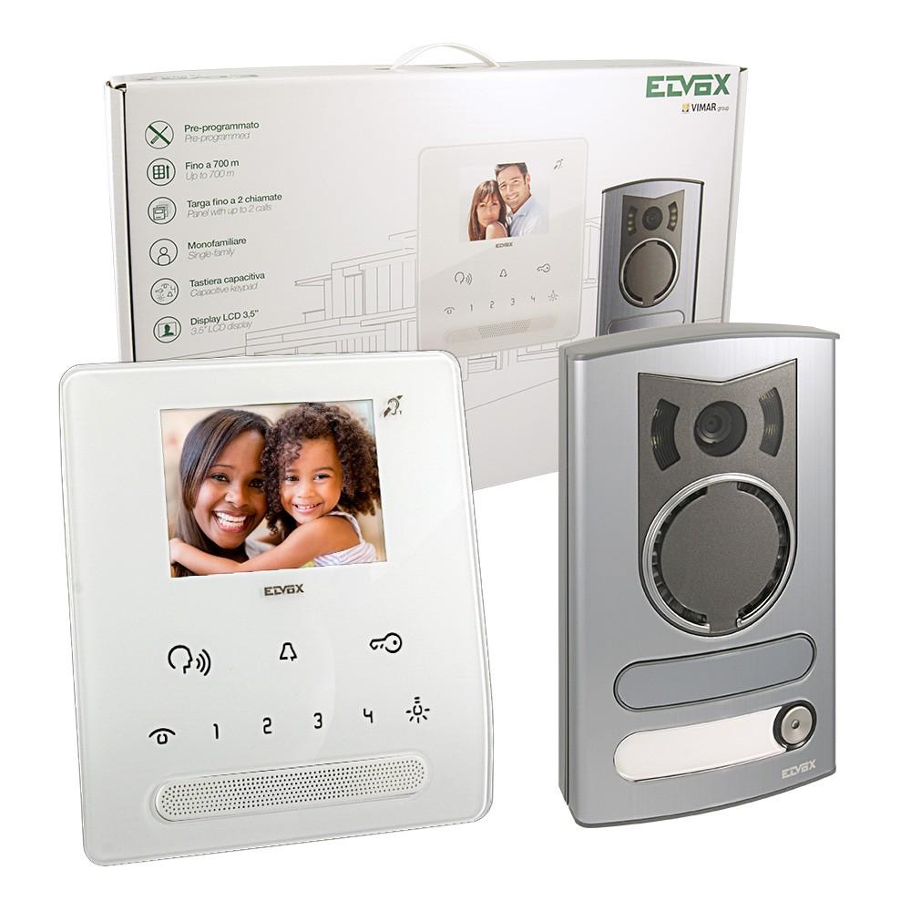 Elvox 7539/M Video Door Entry Kit - Singe Door Colour