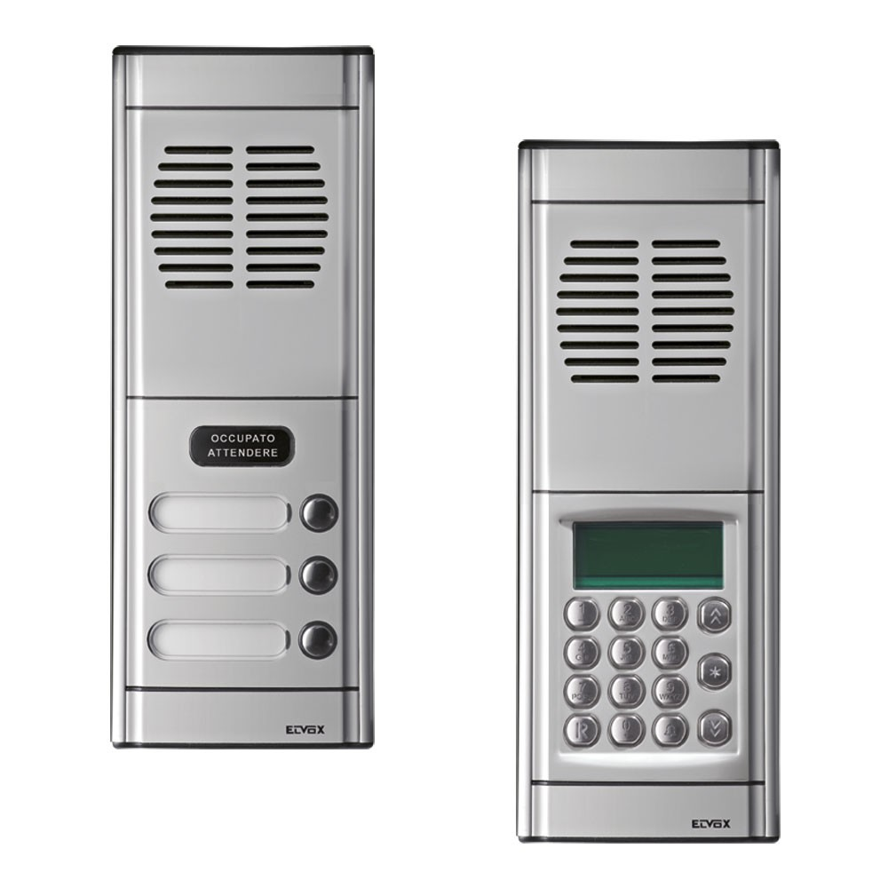 Elvox 2 Module 8000 Series Audio Door Entry Panels