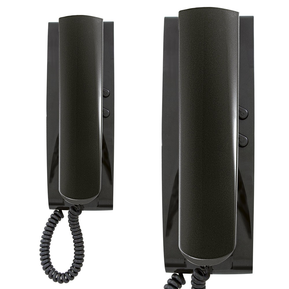Elvox Door Entry audio handset series 8870 and 8875 - black