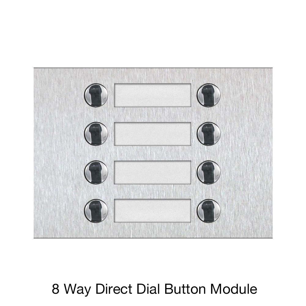 8 Way Direct Dial Button Module