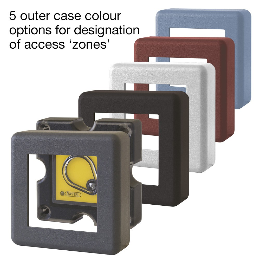 AR-747HS-RAY Proximity Reader 5 plastic housing colour options
