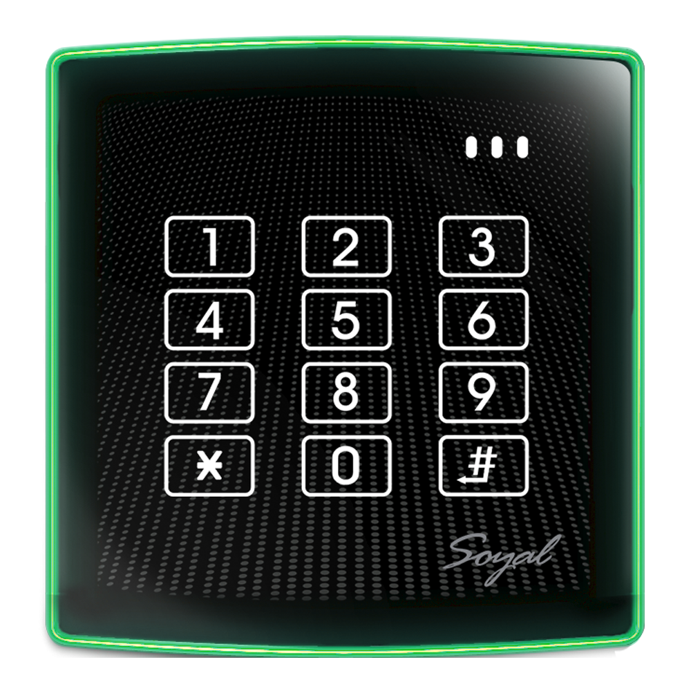 Access Control Proximity Reader Keypad and Controller type AR-888H