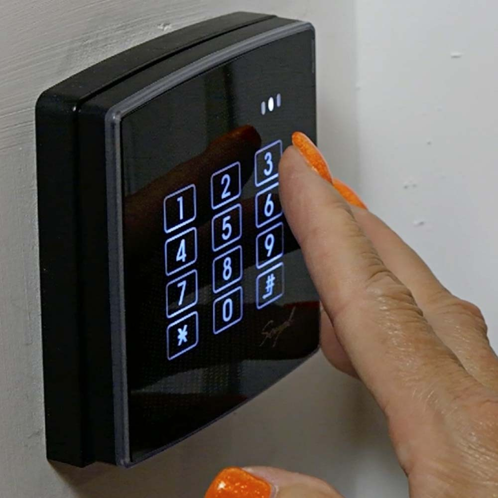 Soyal AR888H keypad operation