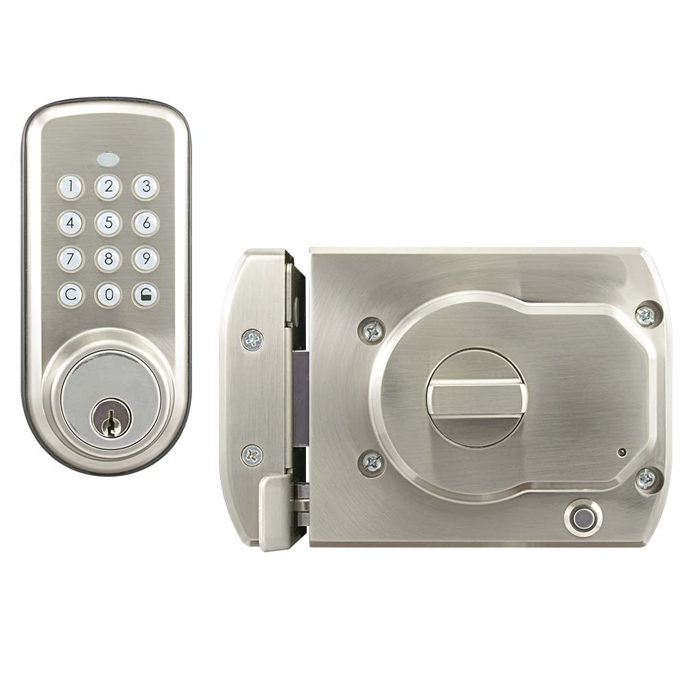 BT-Rimlock-K Smart Bluetooth Door RIM Lock