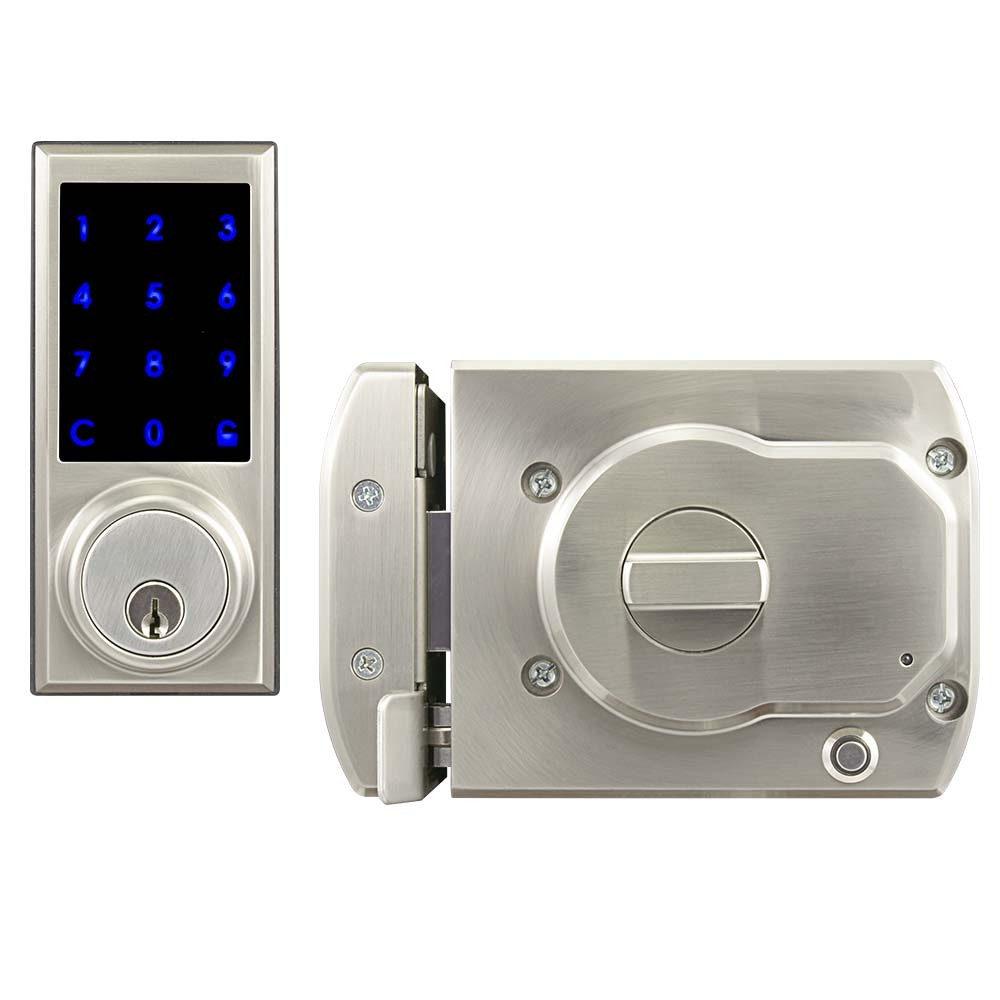 BT-Rimlock-TK Touchpad Smart Bluetooth Door RIM Lock