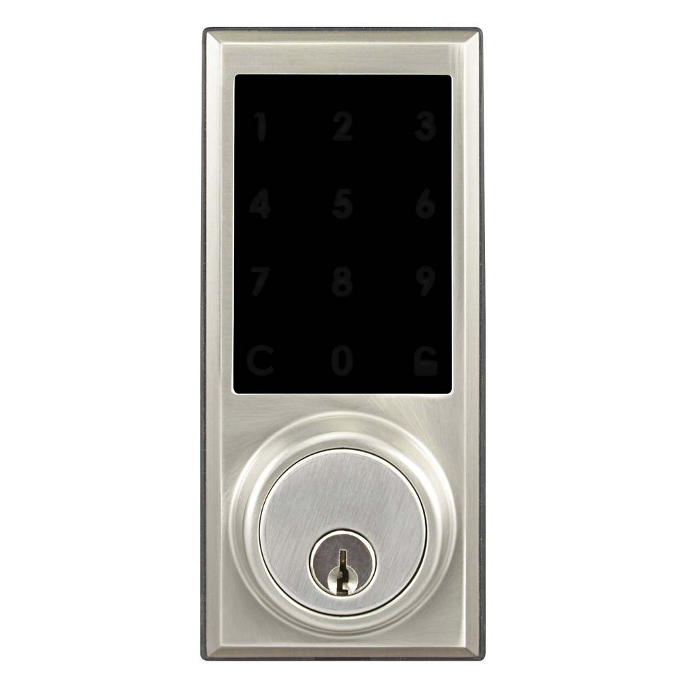 BT-Rimlock-TK Smart Bluetooth Door RIM Lock Outer Illuminated