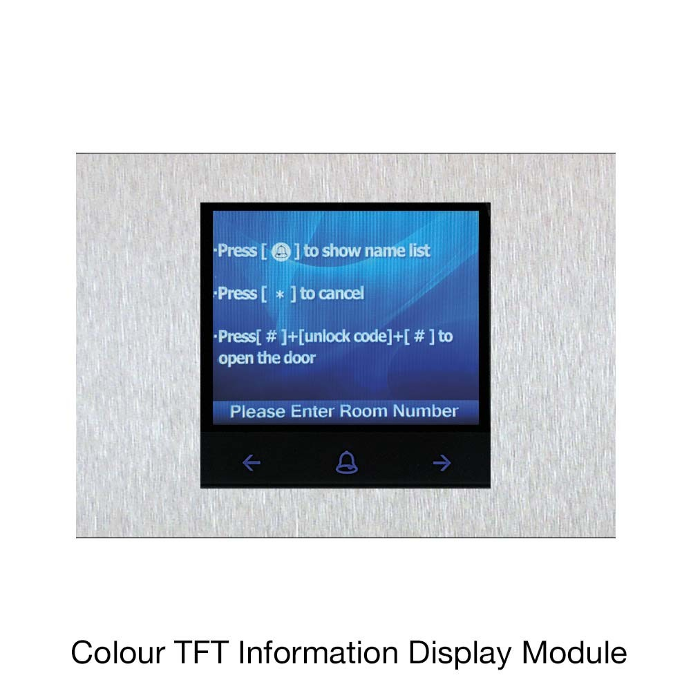 Colour TFT Information Display Module