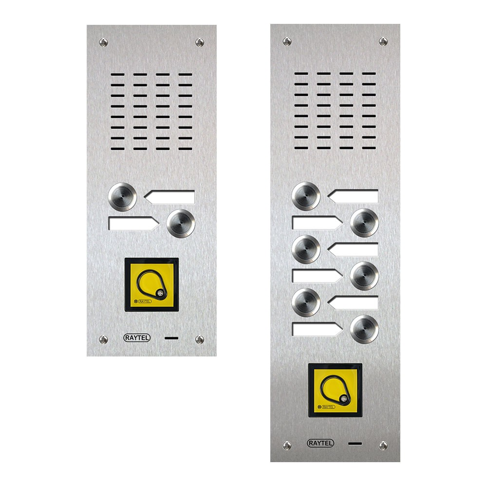 Compact Range Audio Door Entry Panels with Proximity Reader