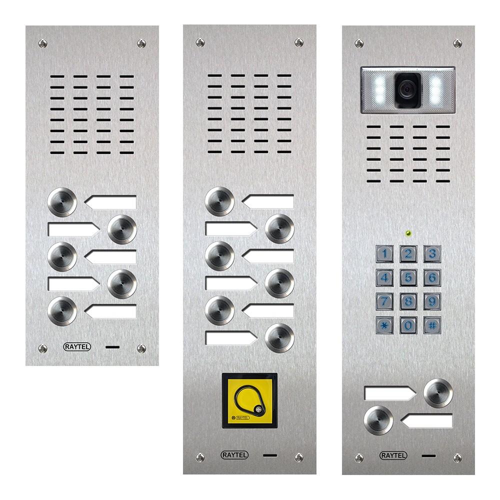 Audio and video Door Entry panels - Compact Range