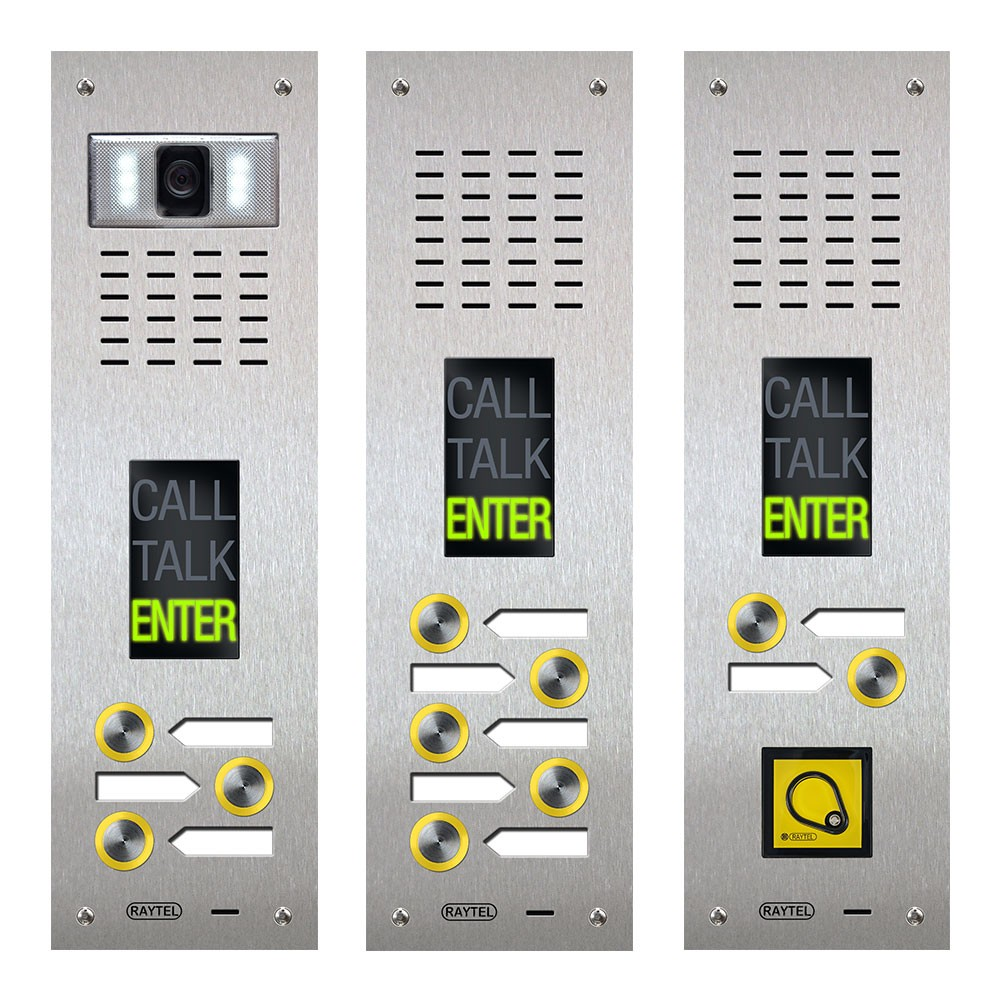 Compact Range Audio and Video Door Entry Panel - DDA Friendly