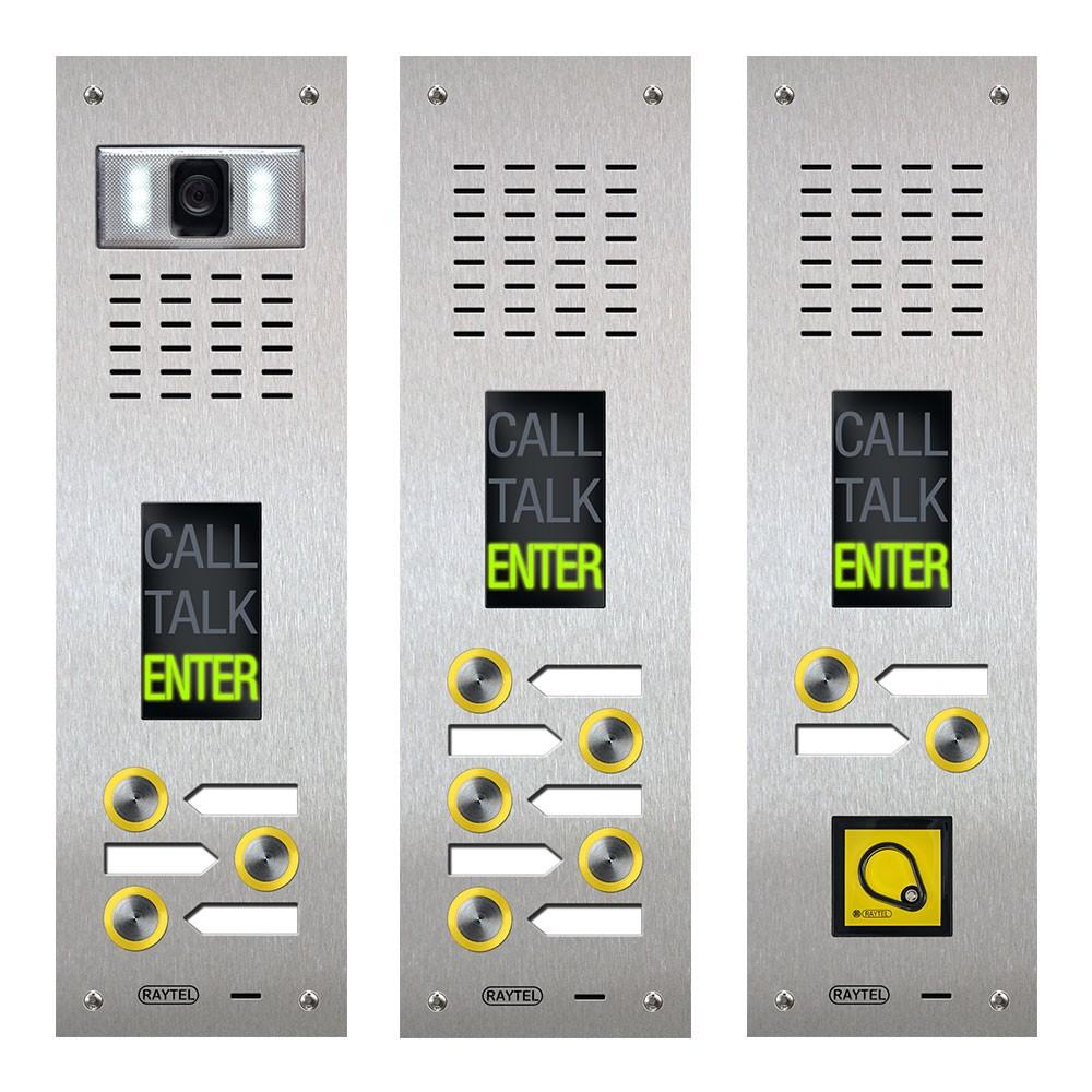 Compact Range Audio and Video Door Entry Panel - DDA Friendly