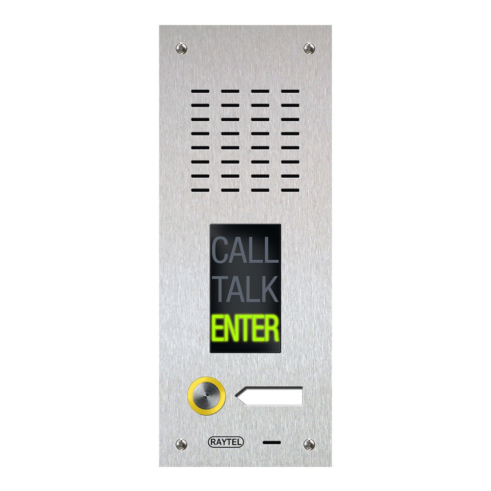 Compact Range Audio Door Entry Panel with DDA Friendly options