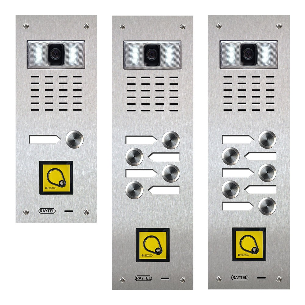 Compact Range Video Door Entry Panels with Proximity Reader