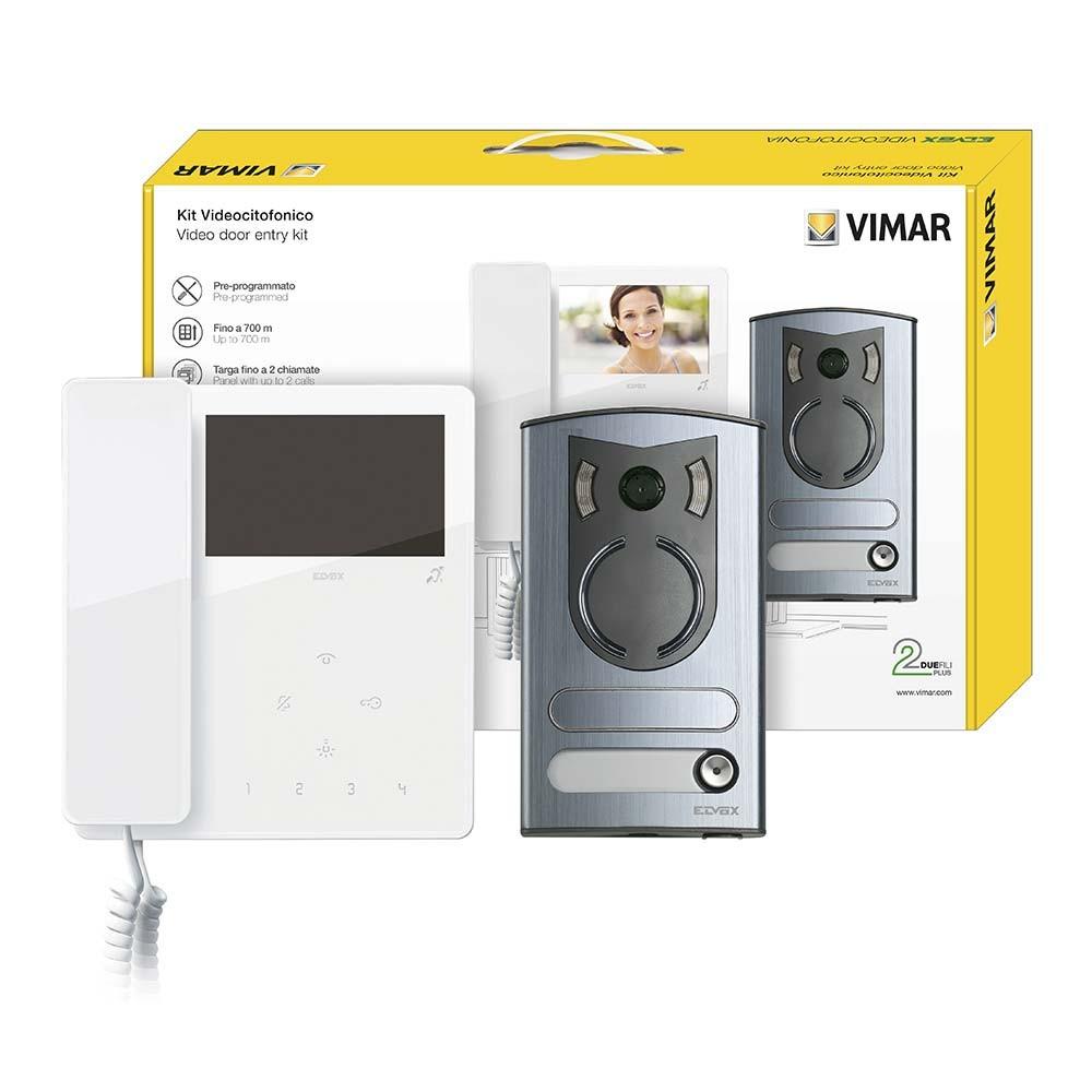 Elvox 7549/M Video Door Entry Kit - Singe Door Colour