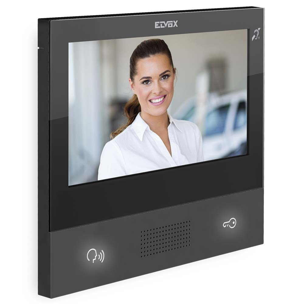 TAB 7S Black WiFi enabled Video Door Entry Monitor - 2 Wire