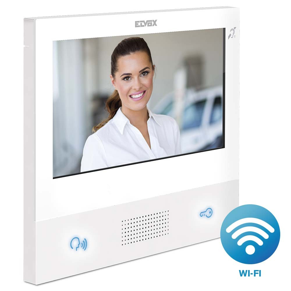 TAB 7S White WiFi enabled Video Door Entry Monitor IP