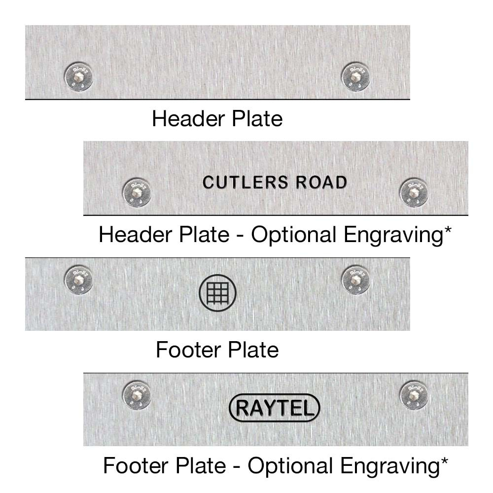 Header and Footer Plates