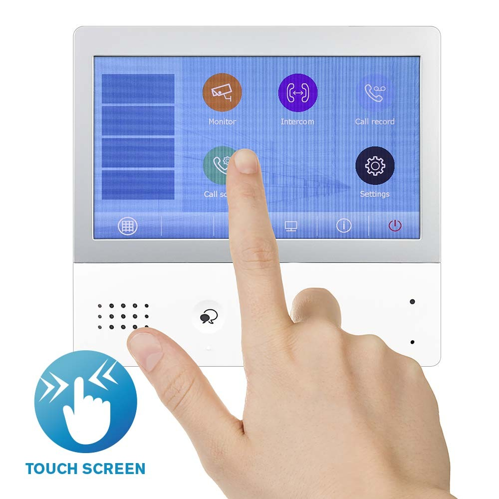 Touch Screen Entrance Monitor