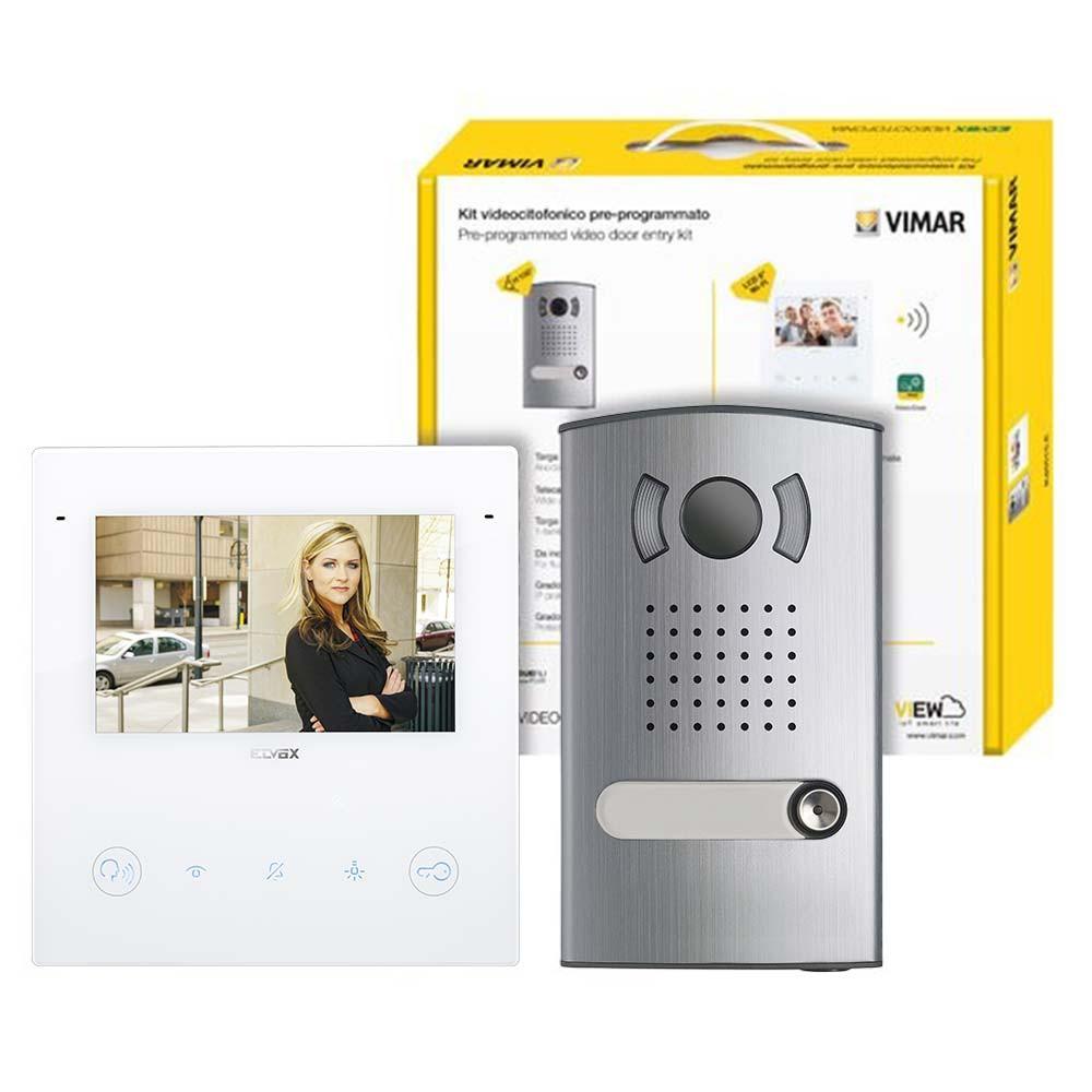 Vimar Elvox K40515.E Video Door Entry Kit