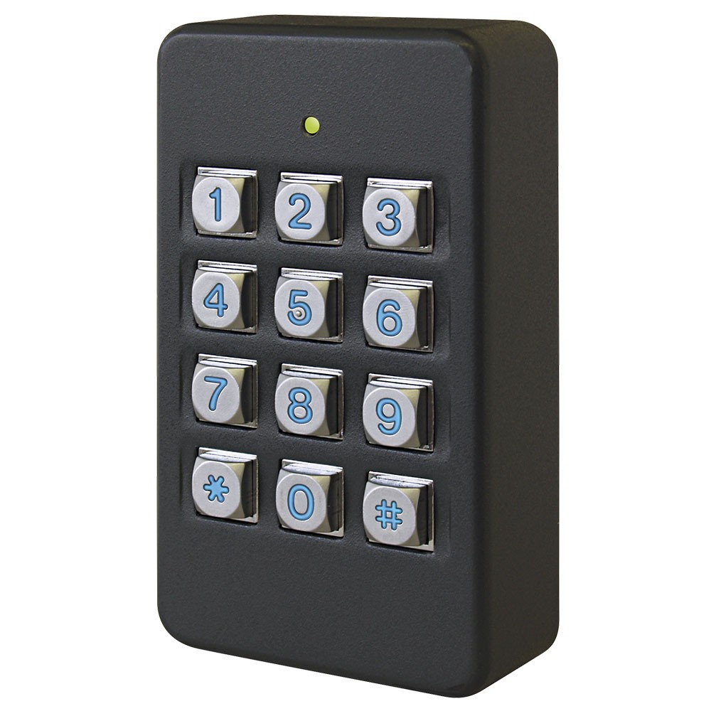 K50i Access Control keypad in black - surface mounting