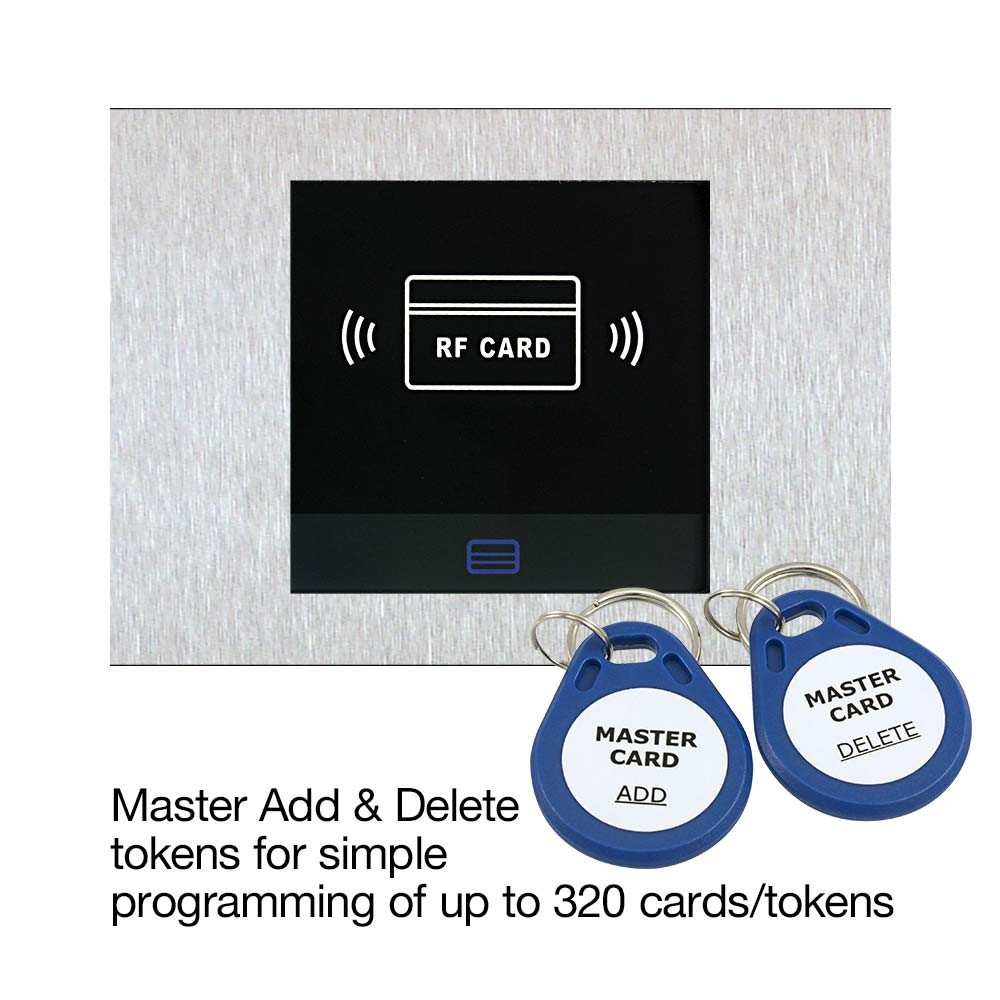 Master Add and Delete Tokens for easy programming