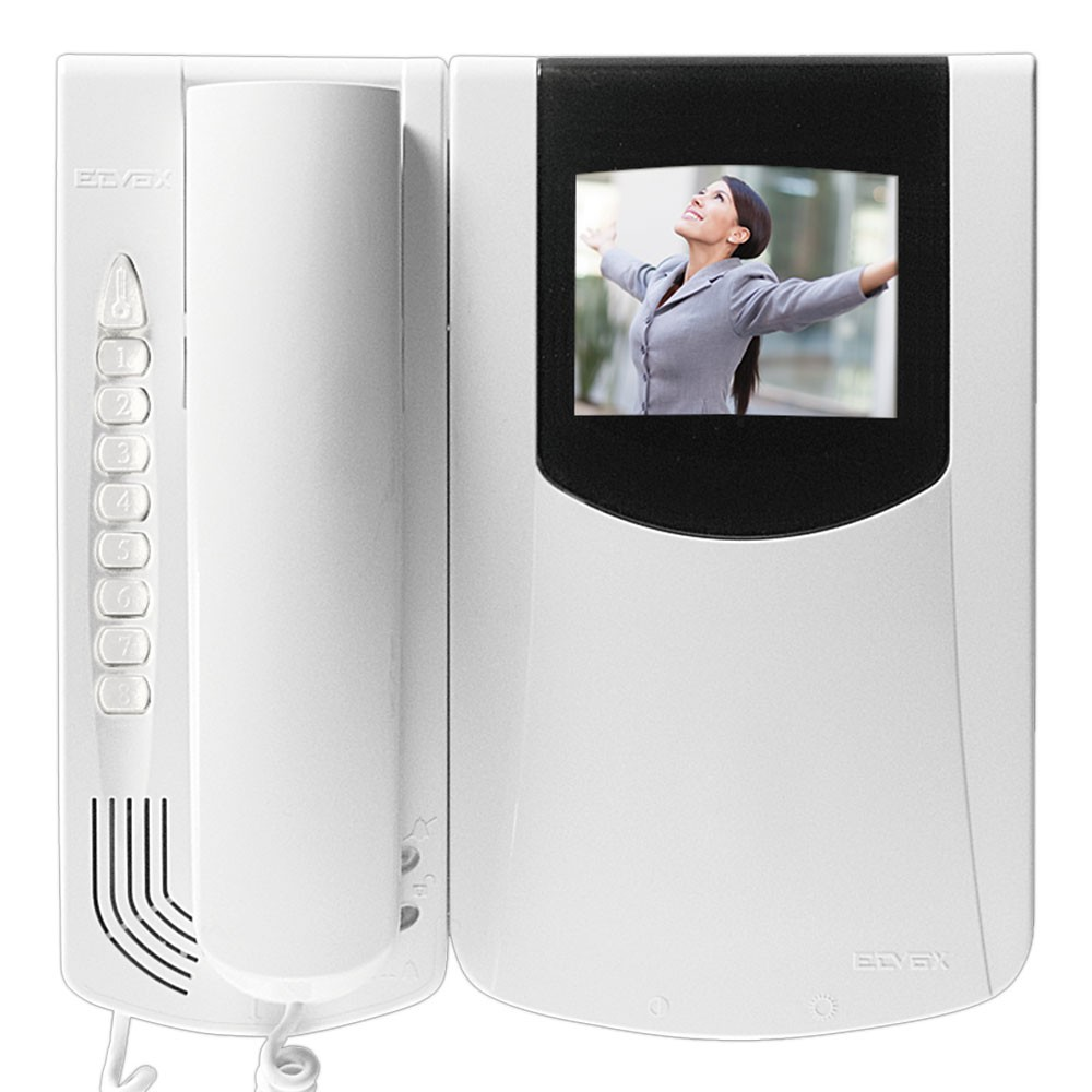 Elvox Petrarca Door Entry video monitor with colour screen