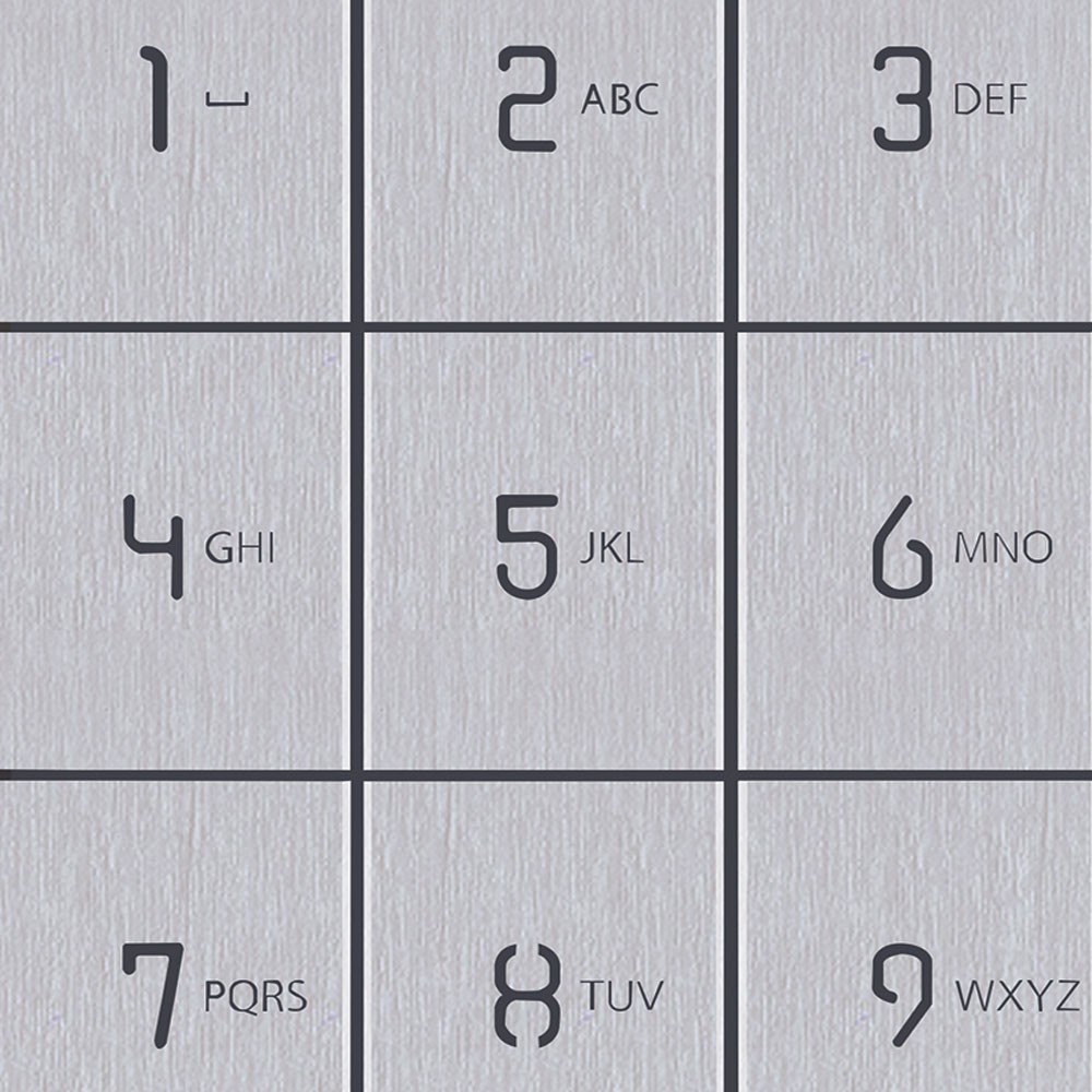Pixel keypad