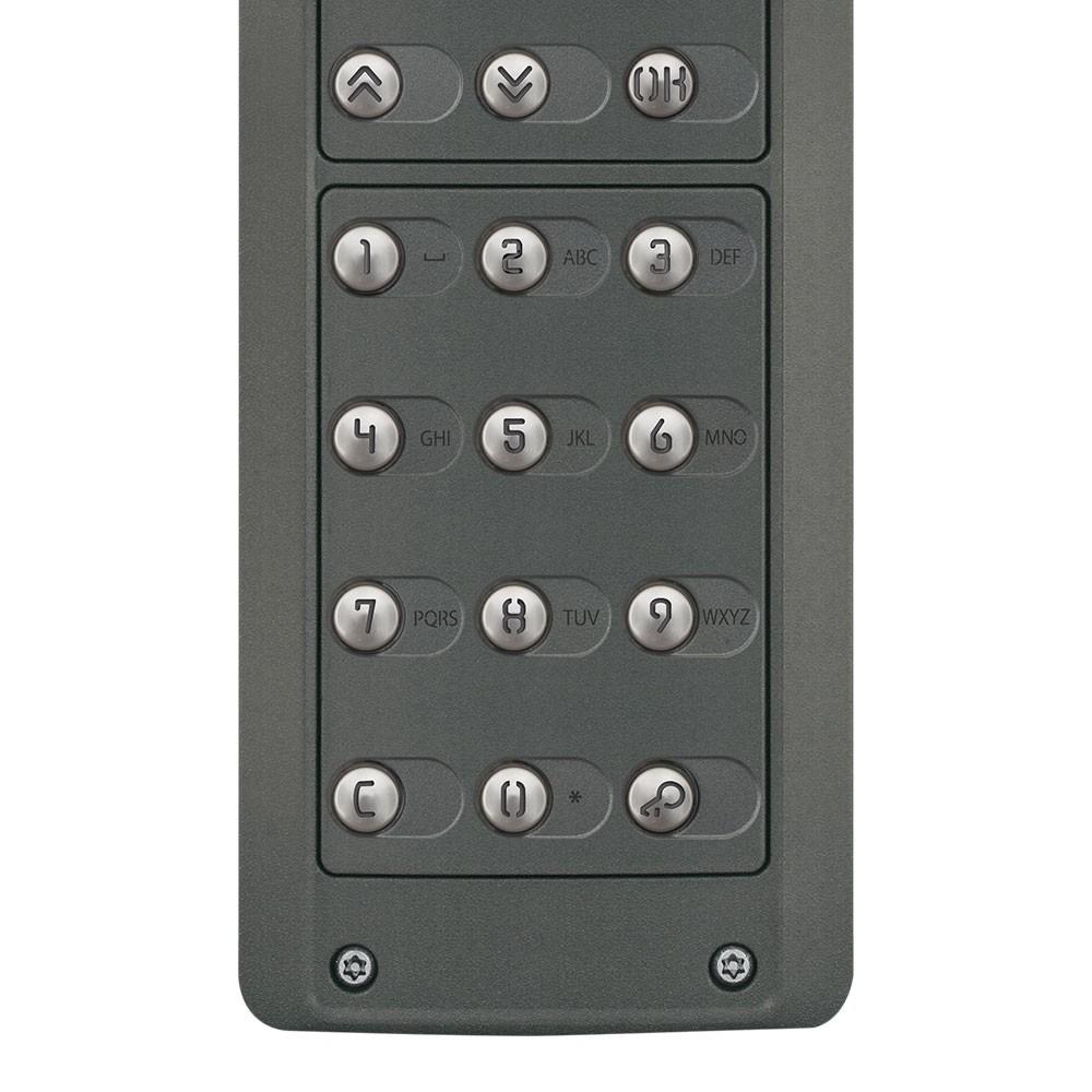 Pixel Heavy Door Entrance Panels Digital Dial buttons