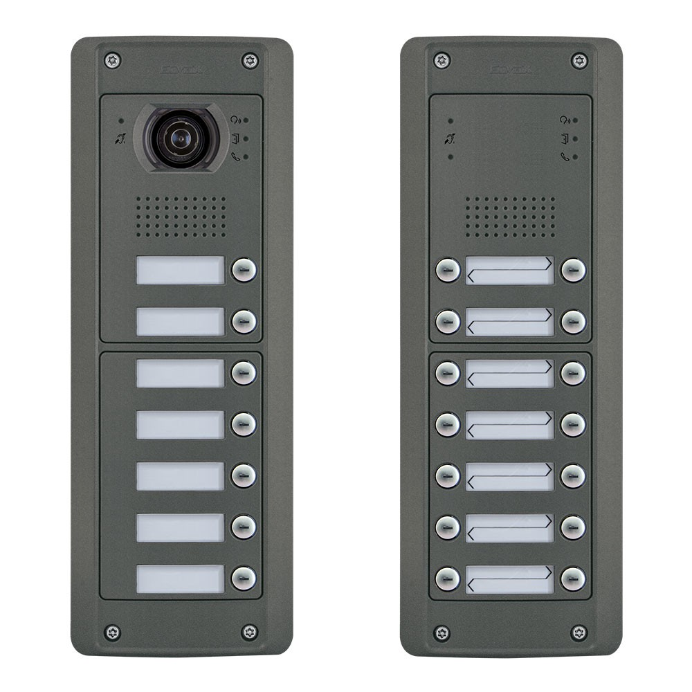 Elvox Pixel Heavy Door Entrance Panels Audio and Video Functional Dial