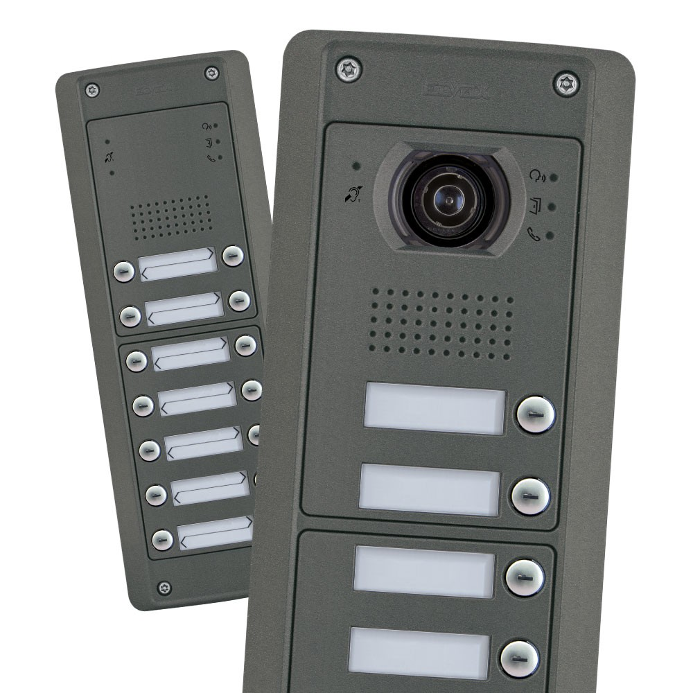 Elvox Pixel Heavy Door Entry Panels Audio and Video