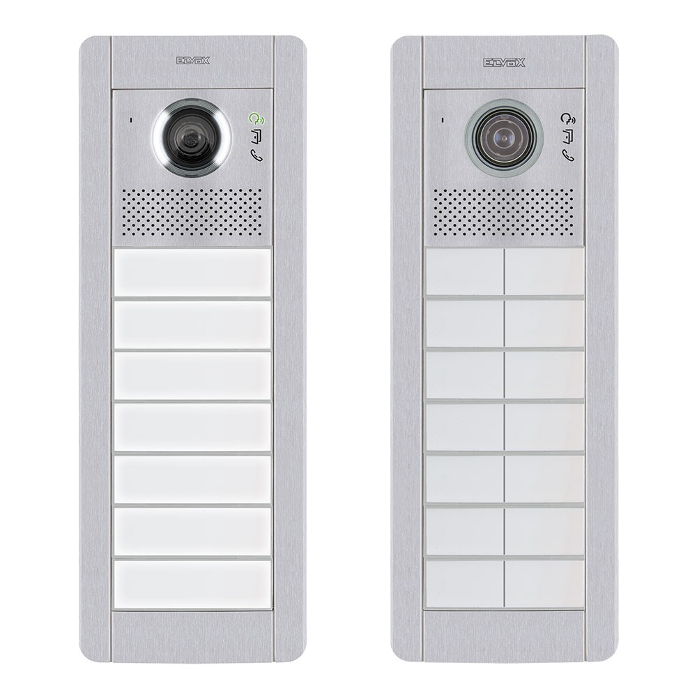 Elvox Pixel video door entry panels with functional dial medium