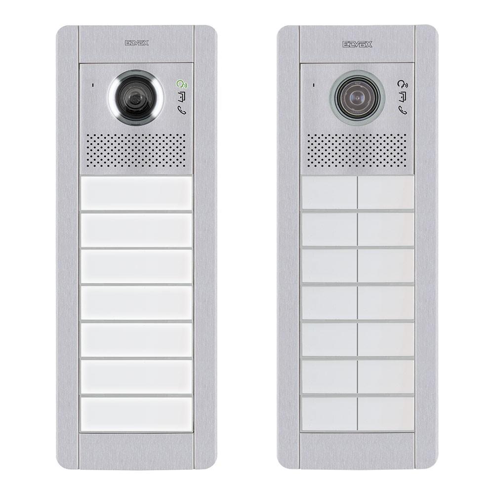Pixel video door entry panels with functional dial medium