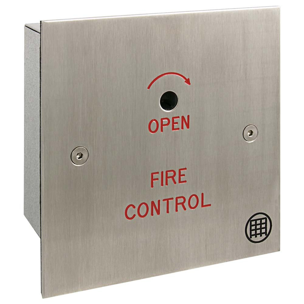 Fire Control - Fire Drop Key Switch Type FFS4 angle view