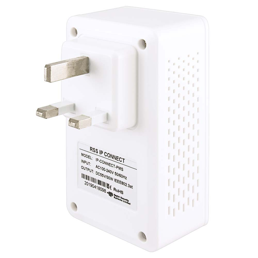 RSS IP-Connect-PMS - IP-Connect Adapter with PoE Injection Back