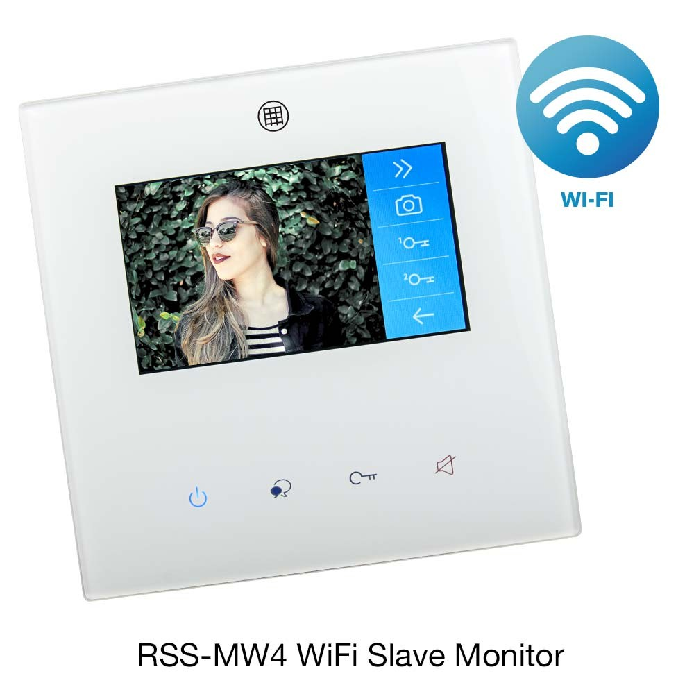 Door Entry Colour Monitor RSS-MWS4 with WiFi