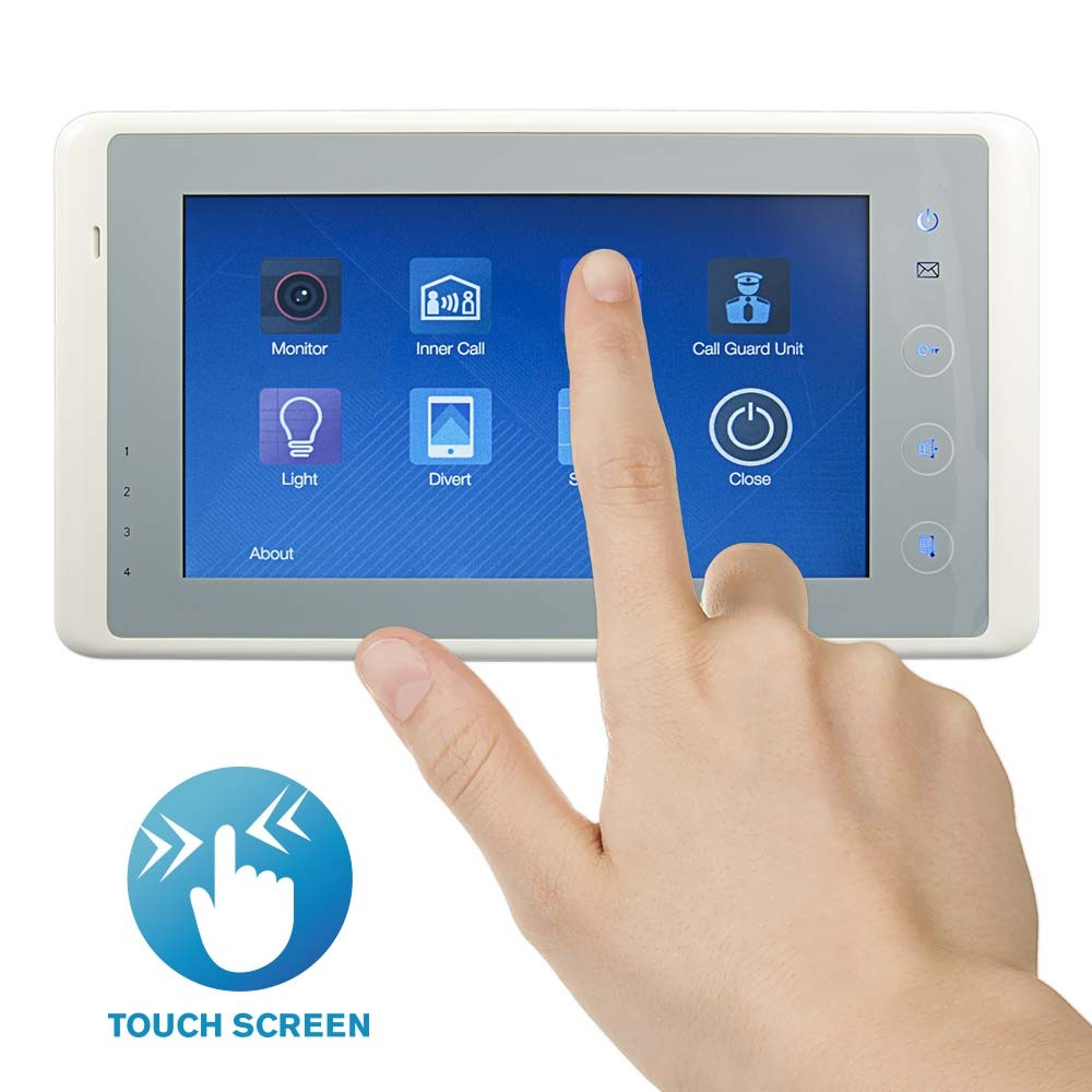 RSS-MT7 Colour Touch Screen Open Voice Apartnment Unit